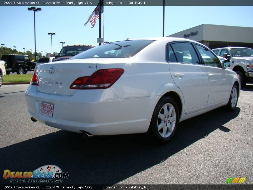2009 Toyota Avalon Xl Blizzard White Pearl Light Gray