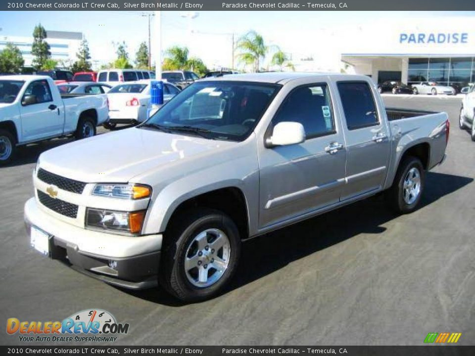 2010 chevrolet colorado lt crew cab silver birch metallic. Black Bedroom Furniture Sets. Home Design Ideas