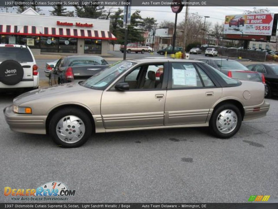 1997 oldsmobile cutlass supreme sl sedan light sandrift metallic beige photo 11 dealerrevs com dealerrevs com