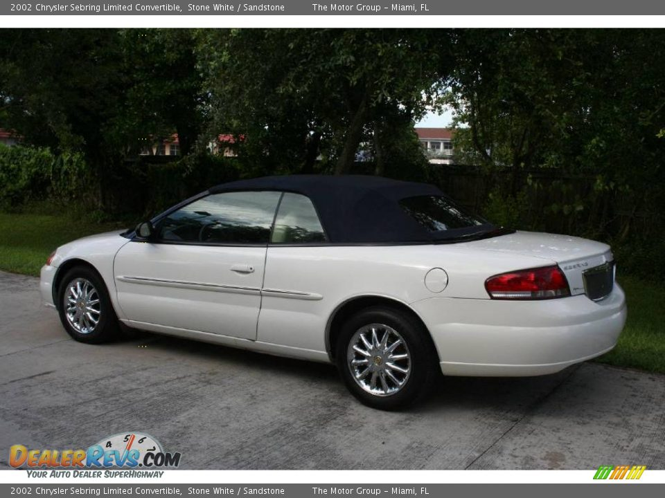 2002 chrysler sebring limited convertible stone white sandstone. Cars Review. Best American Auto & Cars Review