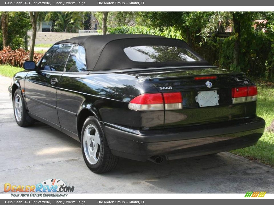 1999 saab 9 3 convertible black warm beige photo 9. Black Bedroom Furniture Sets. Home Design Ideas