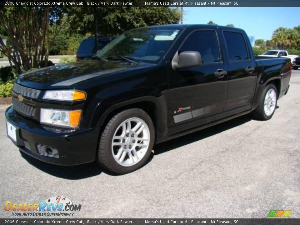 2006 chevrolet colorado xtreme crew cab black very dark pewter photo 4. Black Bedroom Furniture Sets. Home Design Ideas