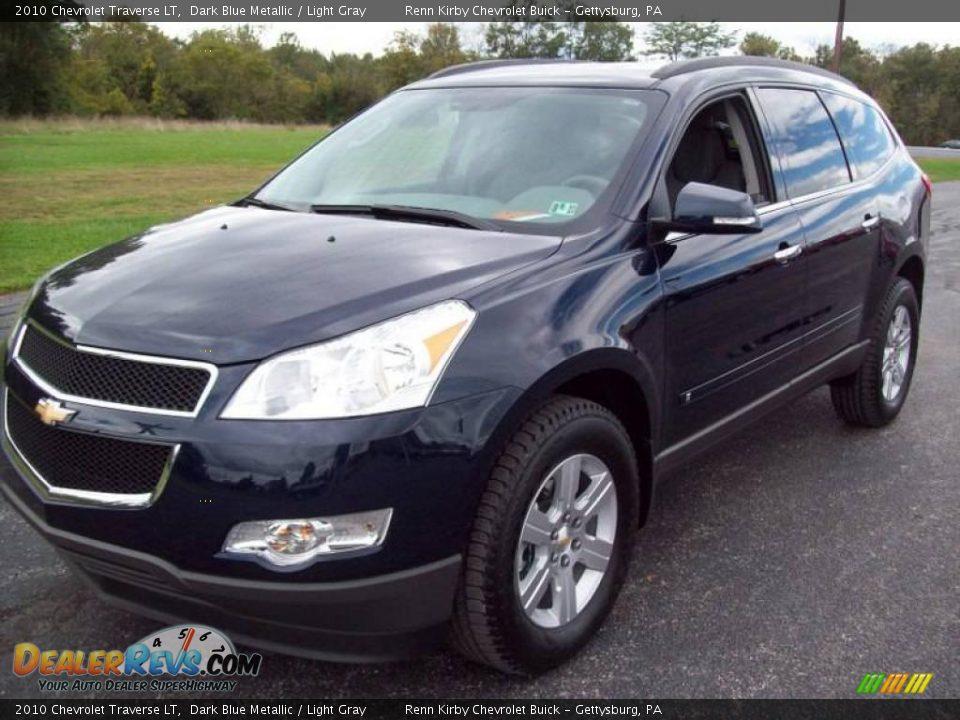 2010 Chevrolet Traverse LT Dark Blue Metallic / Light Gray Photo #2 ...