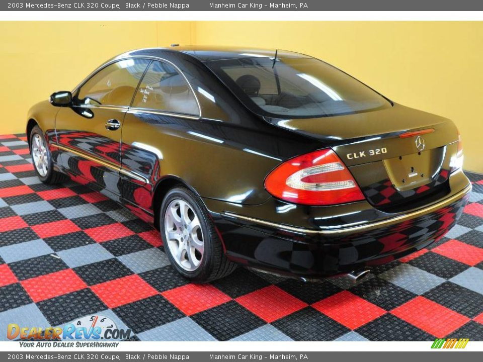 2003 mercedes benz clk 320 coupe black pebble nappa for 2003 mercedes benz clk 320