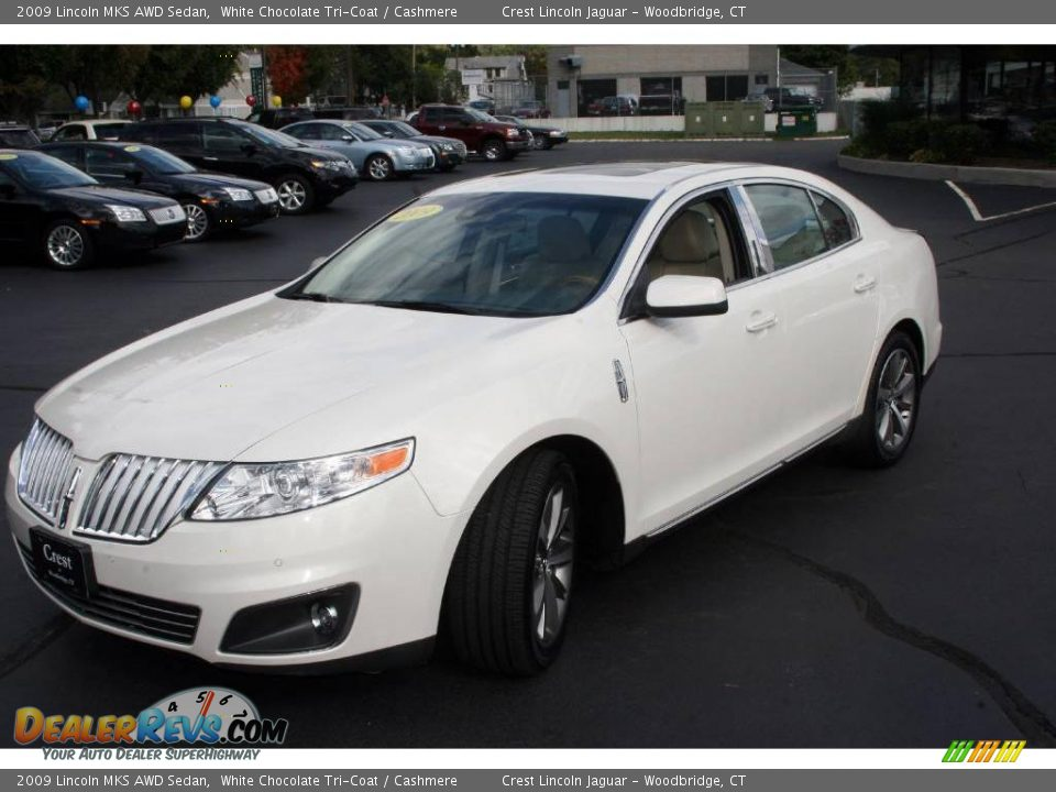 2009 lincoln mks awd sedan white chocolate tri coat. Black Bedroom Furniture Sets. Home Design Ideas