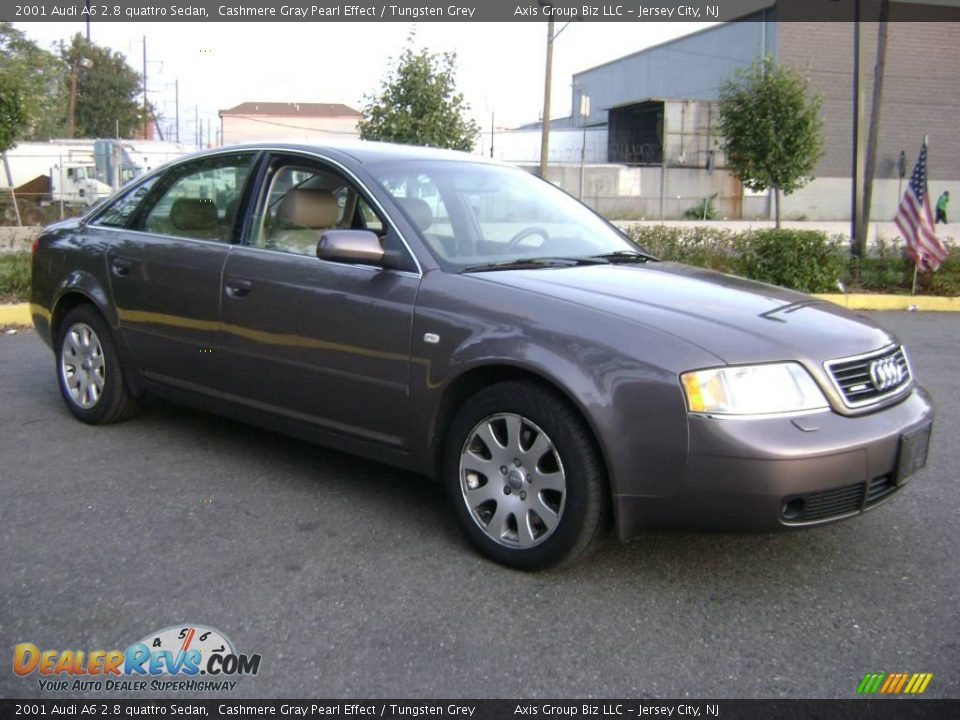 2001 audi a6 2 8 quattro sedan cashmere gray pearl effect. Black Bedroom Furniture Sets. Home Design Ideas