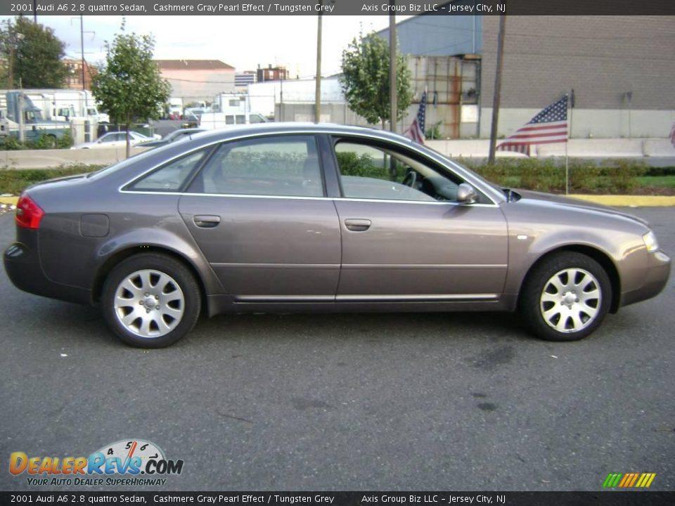 2001 Audi A6 2 8 Quattro Sedan Cashmere Gray Pearl Effect