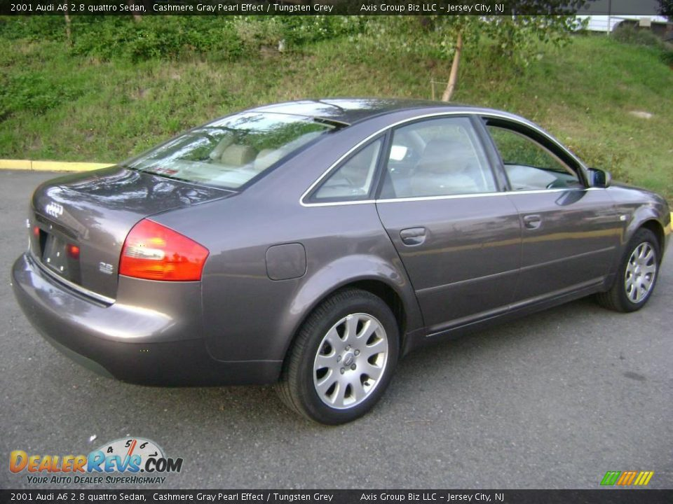 2001 audi a6 2 8 quattro sedan cashmere gray pearl effect tungsten grey photo 6. Black Bedroom Furniture Sets. Home Design Ideas