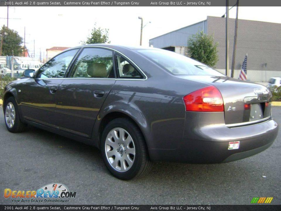 2001 audi a6 2 8 quattro sedan cashmere gray pearl effect tungsten grey photo 7. Black Bedroom Furniture Sets. Home Design Ideas