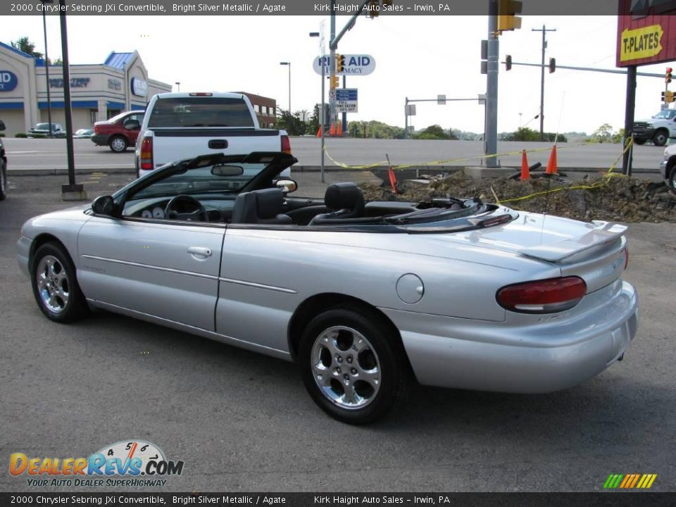 2000 chrysler sebring jxi convertible bright silver. Black Bedroom Furniture Sets. Home Design Ideas