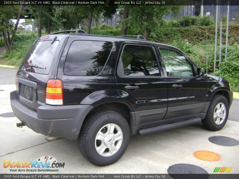 2003 ford escape xlt v6 4wd black clearcoat medium dark. Black Bedroom Furniture Sets. Home Design Ideas