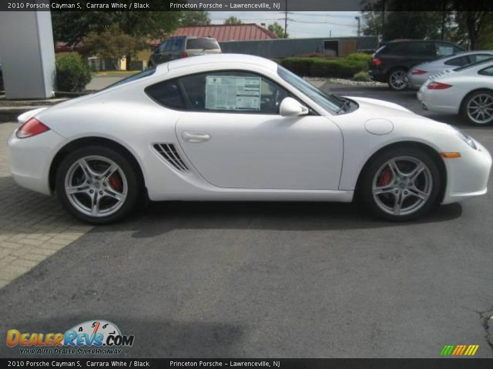 2010 porsche cayman s carrara white black photo 3. Black Bedroom Furniture Sets. Home Design Ideas