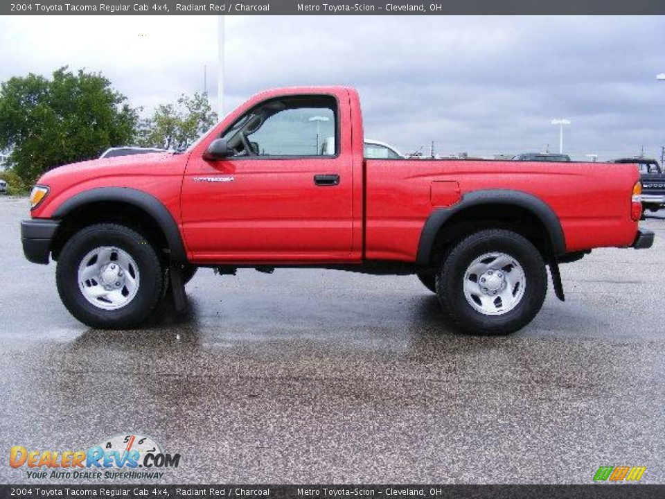 2004 toyota tacoma regular cab 4x4 radiant red charcoal photo 6. Black Bedroom Furniture Sets. Home Design Ideas