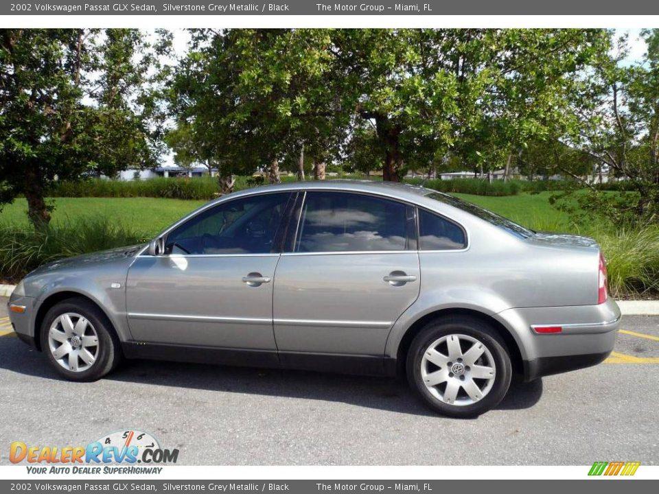 2002 Volkswagen Passat Glx Sedan Silverstone Grey Metallic