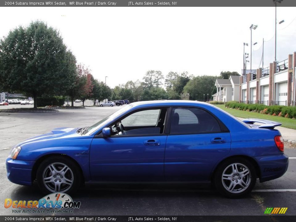 2004 Subaru Impreza Wrx Sedan Wr Blue Pearl Dark Gray