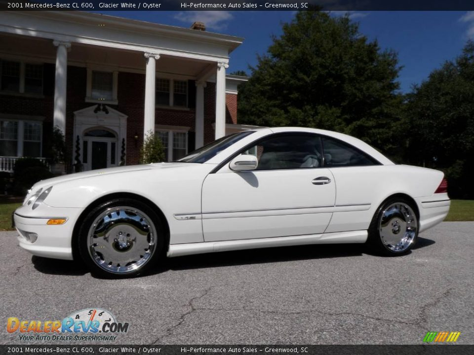 2001 mercedes benz cl 600 glacier white oyster photo 3 for 2001 mercedes benz cl600