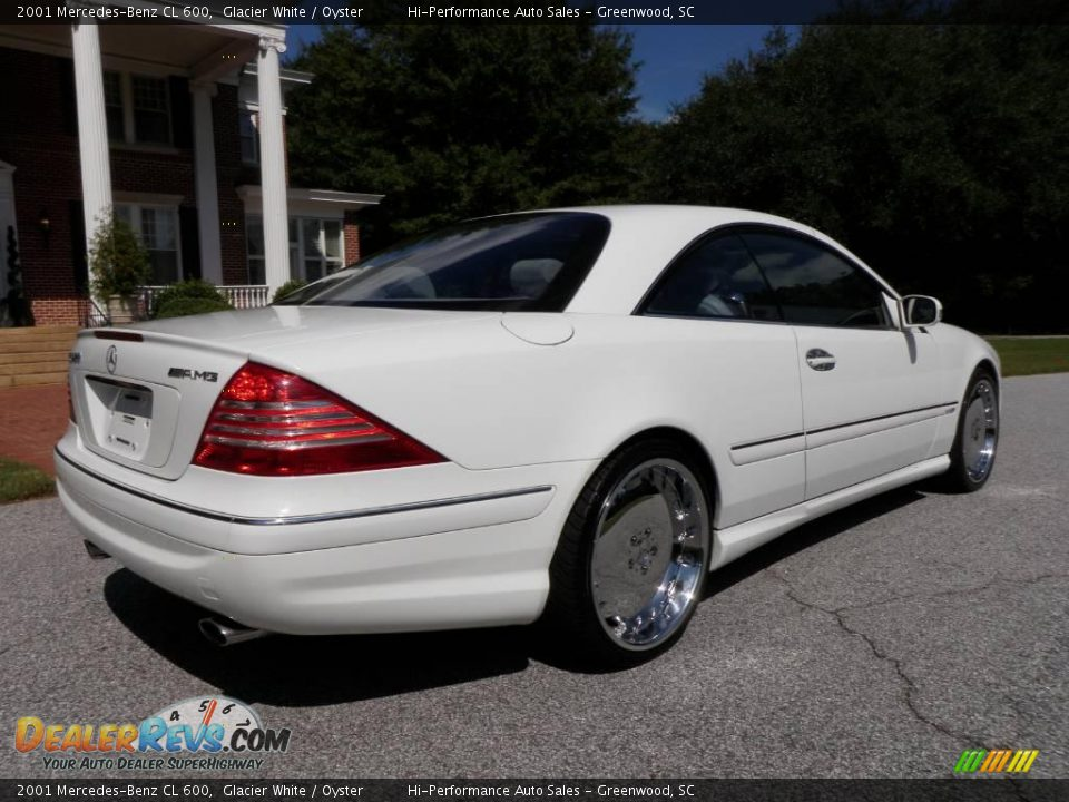 2001 mercedes benz cl 600 glacier white oyster photo 10 for 2001 mercedes benz cl600