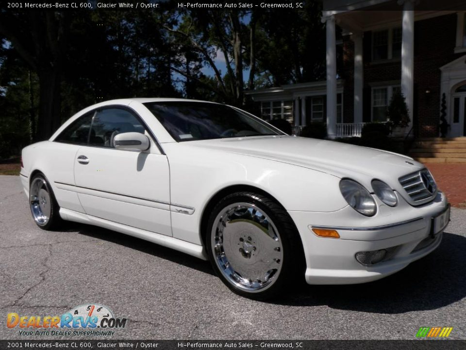 2001 mercedes benz cl 600 glacier white oyster photo 14 for 2001 mercedes benz cl600