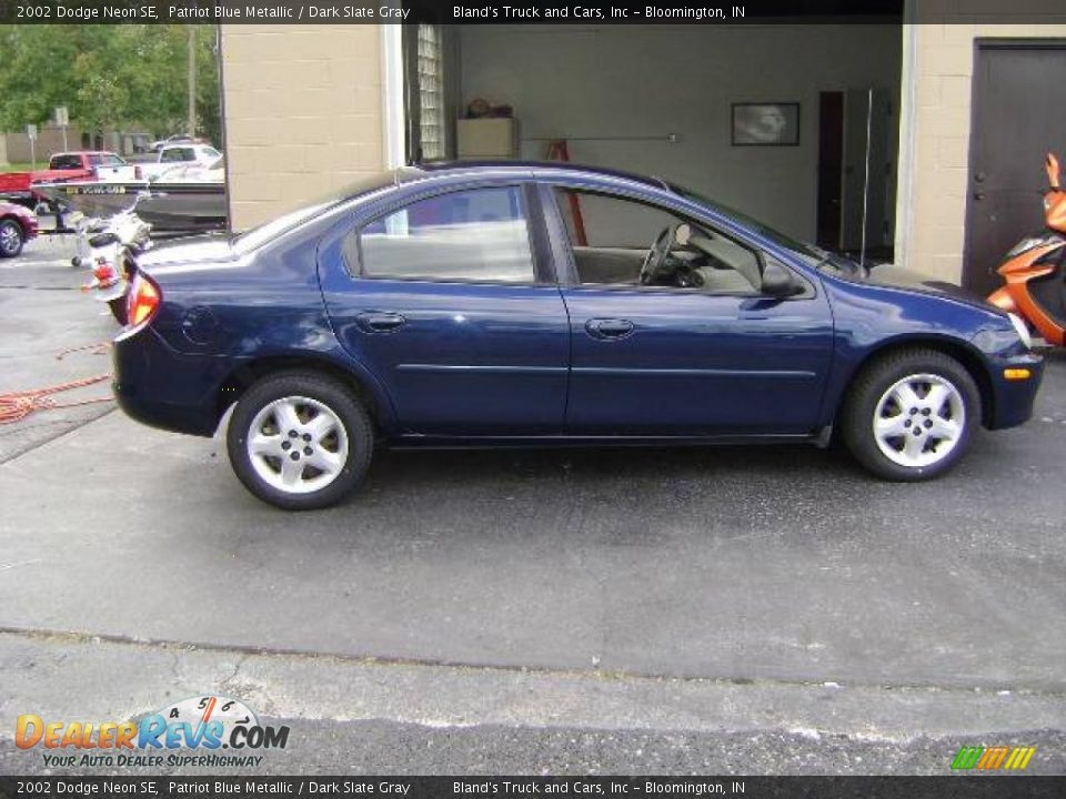 2002 dodge neon se patriot blue metallic dark slate gray. Black Bedroom Furniture Sets. Home Design Ideas