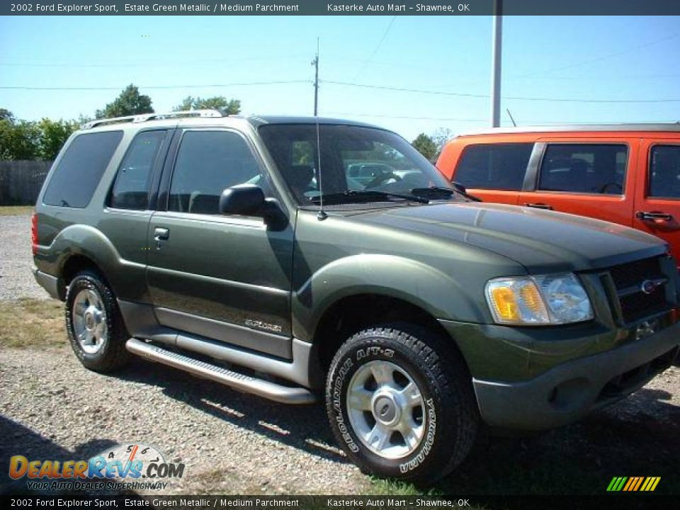 2002 ford explorer sport estate green metallic medium parchment. Cars Review. Best American Auto & Cars Review