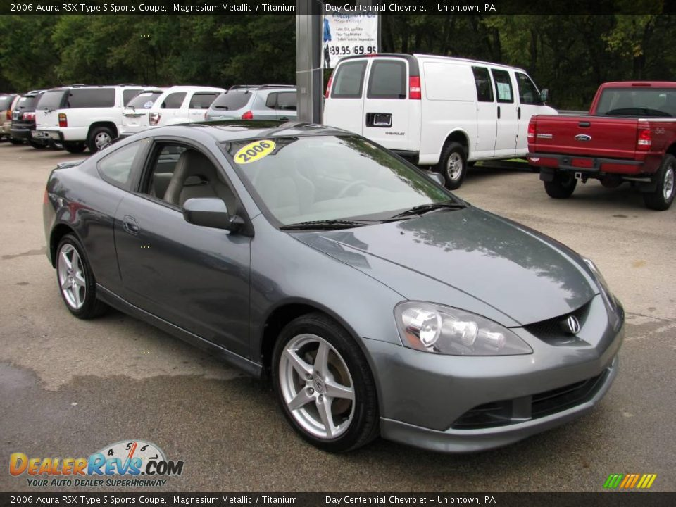 2006 Acura RSX Type S Sports Coupe Magnesium Metallic ...