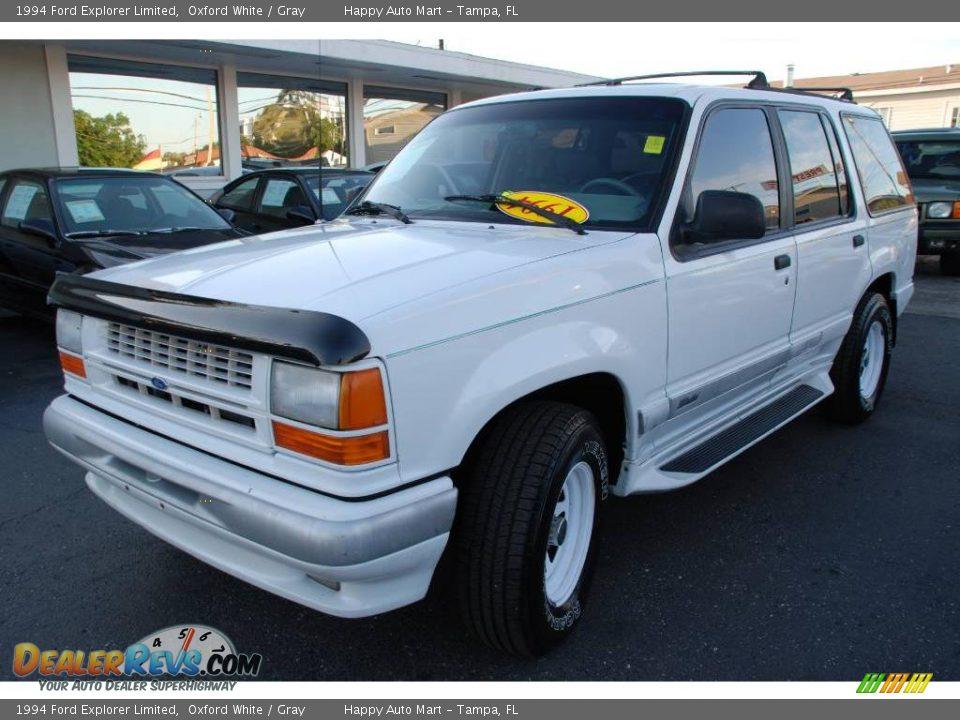 Ford Dealer Locator >> 1994 Ford Explorer Limited Oxford White / Gray Photo #2   DealerRevs.com
