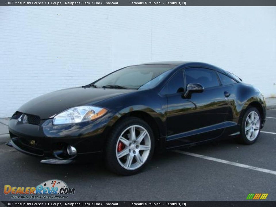 2007 mitsubishi eclipse gt coupe kalapana black dark charcoal photo 1. Black Bedroom Furniture Sets. Home Design Ideas