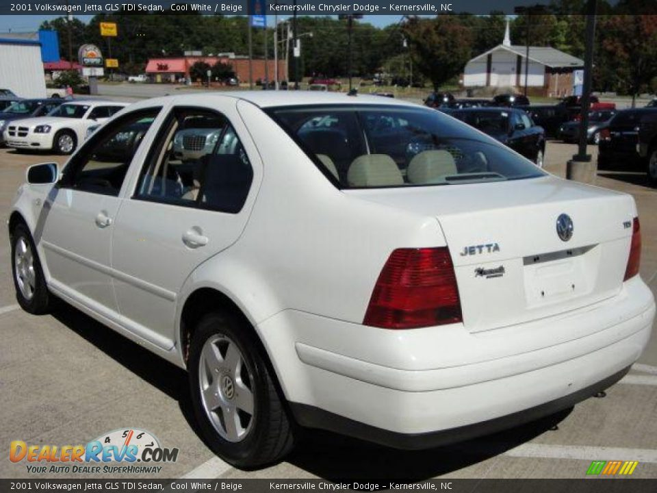 2001 volkswagen jetta gls tdi sedan cool white beige photo 4. Black Bedroom Furniture Sets. Home Design Ideas