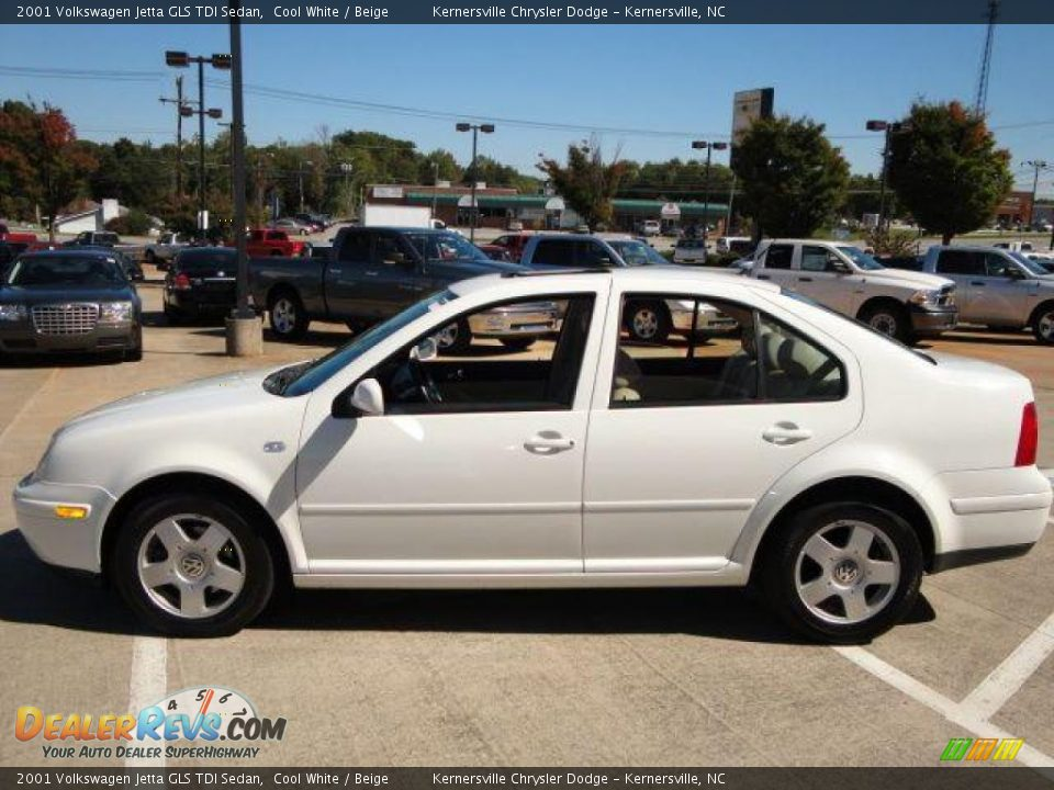 2001 volkswagen jetta gls tdi sedan cool white beige photo 5. Black Bedroom Furniture Sets. Home Design Ideas