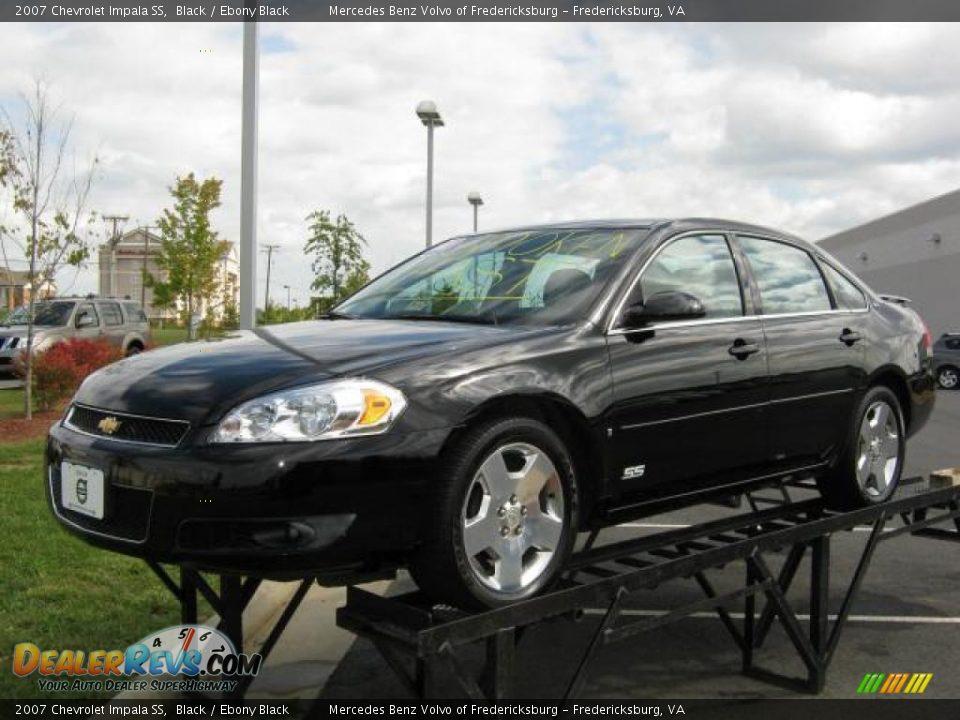 2006 Chevy Impala For Sale 2007 Chevrolet Impala SS Black / Ebony Black Photo #1 ...