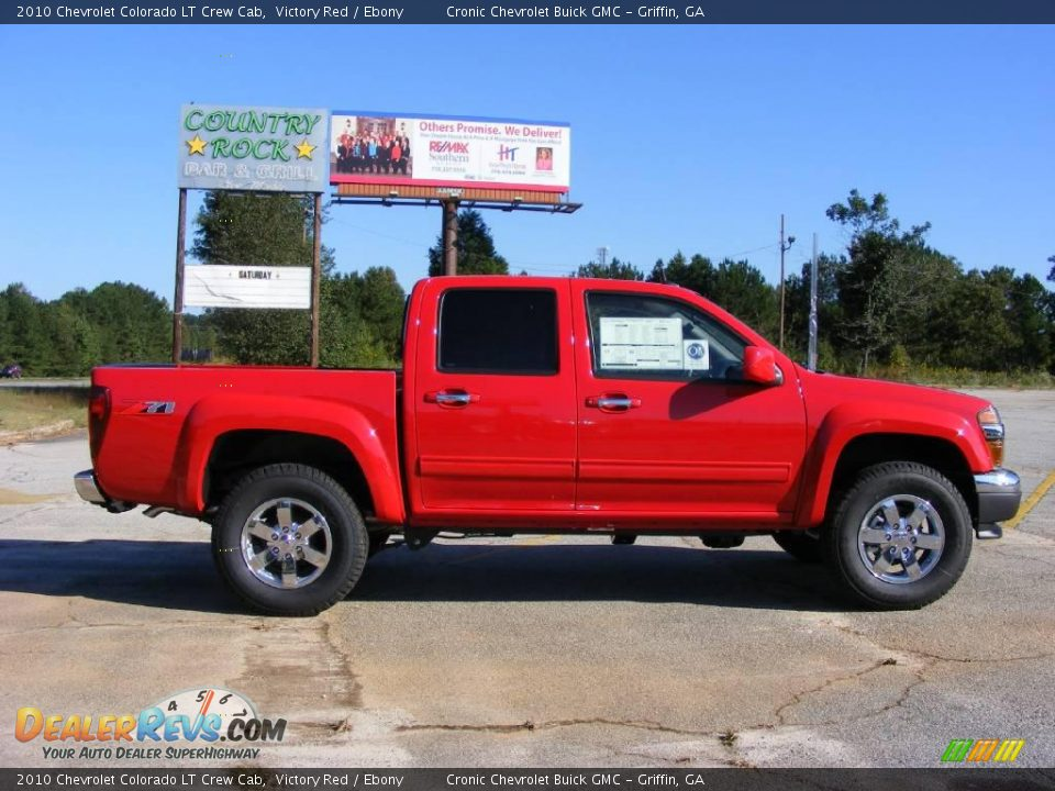 2010 chevrolet colorado lt crew cab victory red ebony. Black Bedroom Furniture Sets. Home Design Ideas