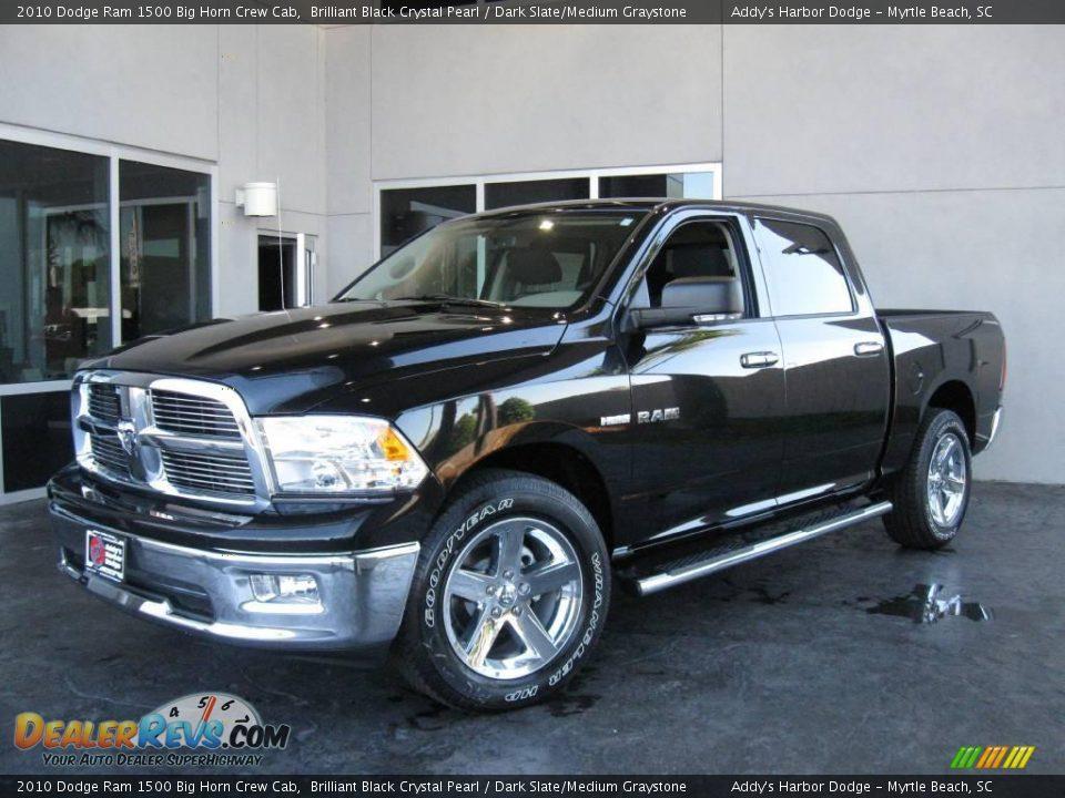 2010 Dodge Ram 1500 Big Horn Crew Cab Brilliant Black