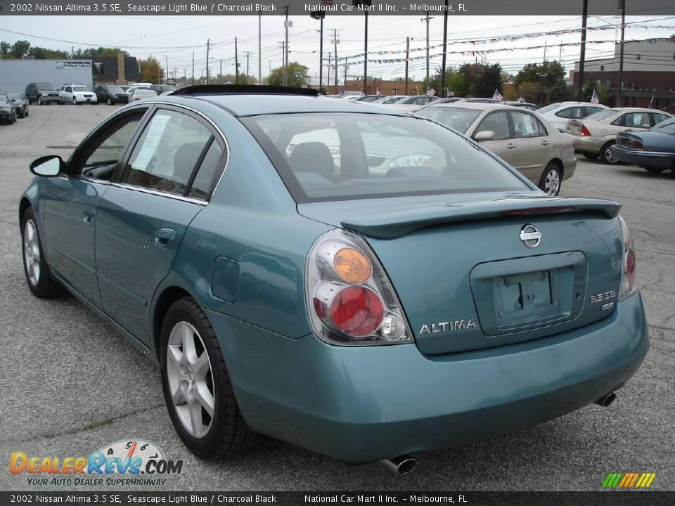 2002 nissan altima 3 5 se seascape light blue charcoal. Black Bedroom Furniture Sets. Home Design Ideas