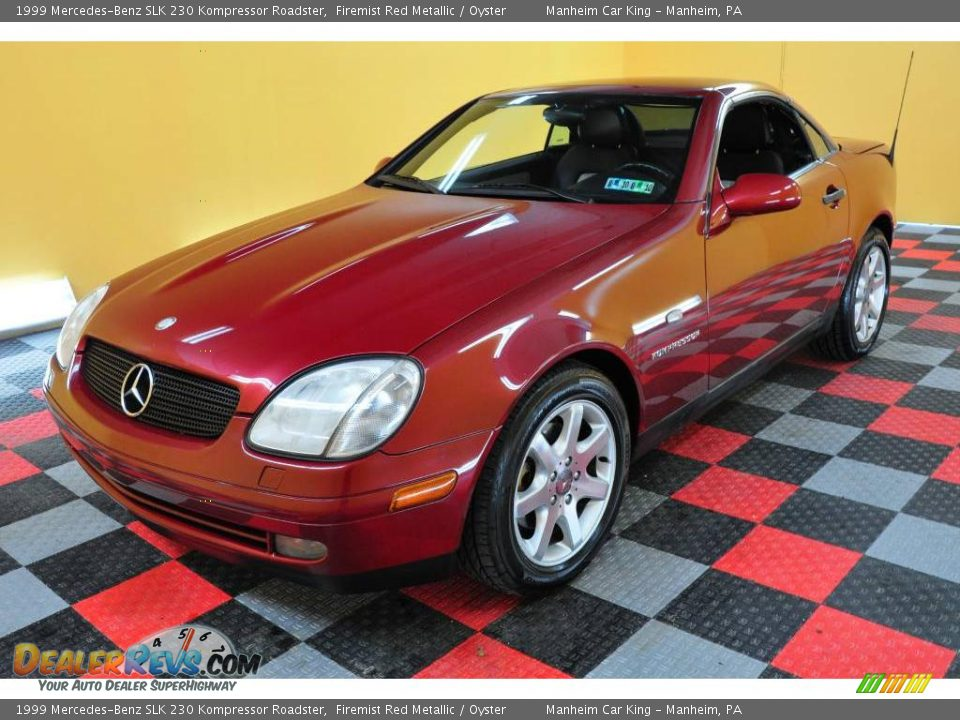 1999 mercedes benz slk 230 kompressor roadster firemist for 1999 mercedes benz slk 230 kompressor