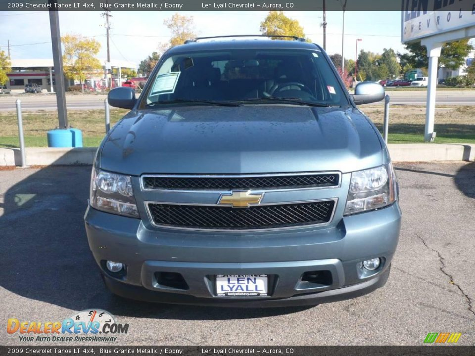 2009 chevrolet tahoe lt 4x4 blue granite metallic ebony. Black Bedroom Furniture Sets. Home Design Ideas