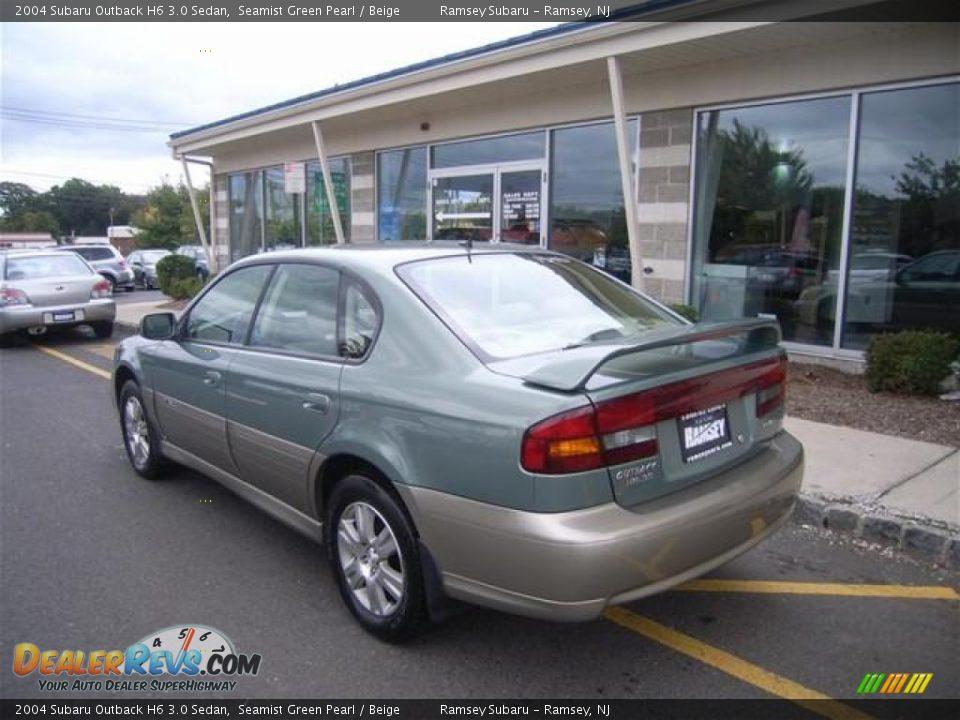 2004 Subaru Outback H6 30 Sedan Seamist Green Pearl Beige Photo