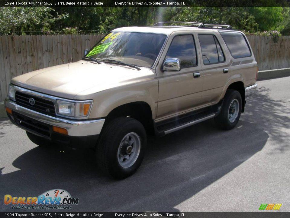 1994 Toyota 4runner Sr5 Sierra Beige Metallic Beige