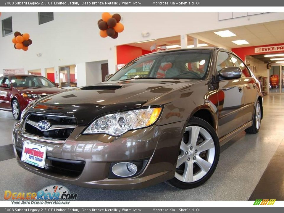 2008 subaru legacy 2 5 gt limited sedan deep bronze metallic warm ivory photo 1. Black Bedroom Furniture Sets. Home Design Ideas