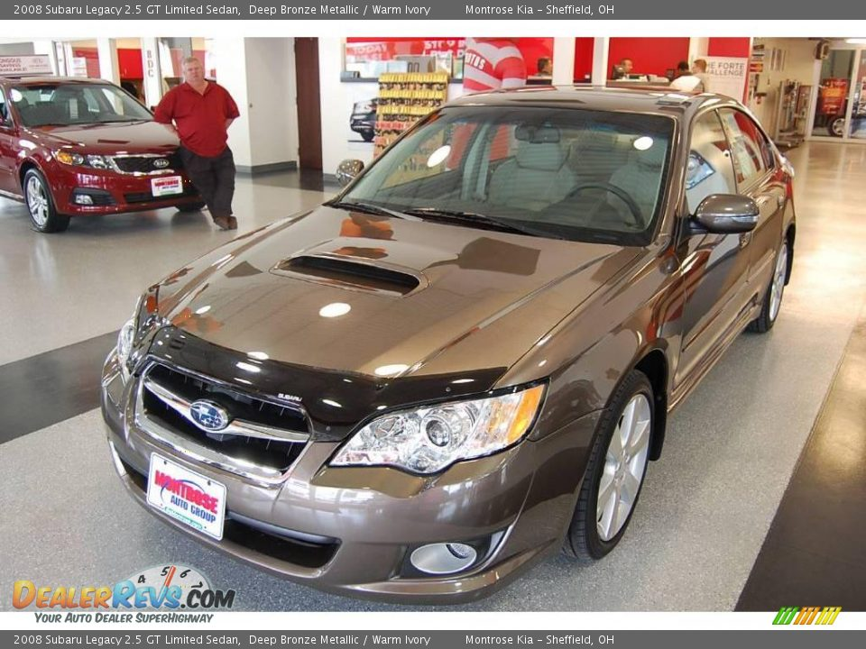 2008 subaru legacy 2 5 gt limited sedan deep bronze metallic warm ivory photo 3. Black Bedroom Furniture Sets. Home Design Ideas