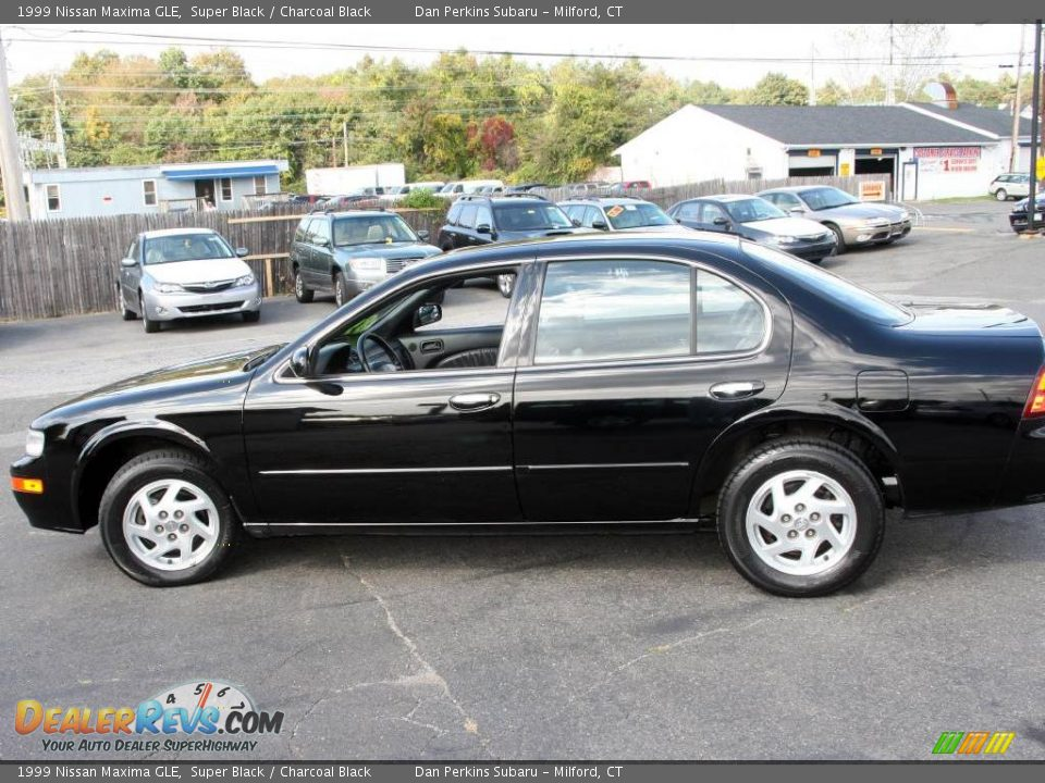 1999 nissan maxima gle super black charcoal black photo. Black Bedroom Furniture Sets. Home Design Ideas