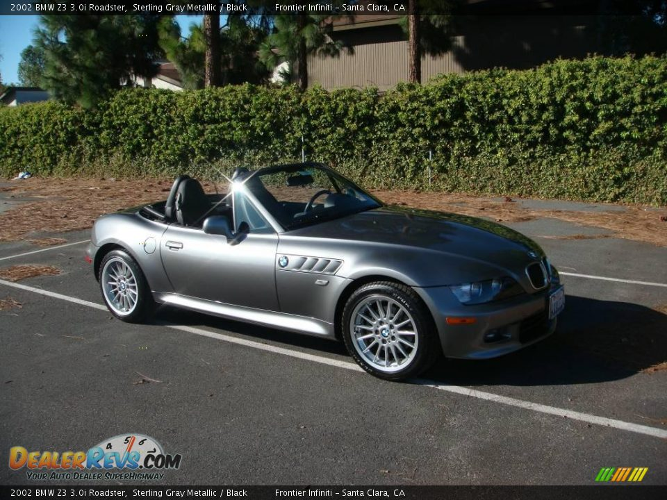 2002 Bmw Z3 3 0i Roadster Sterling Gray Metallic Black