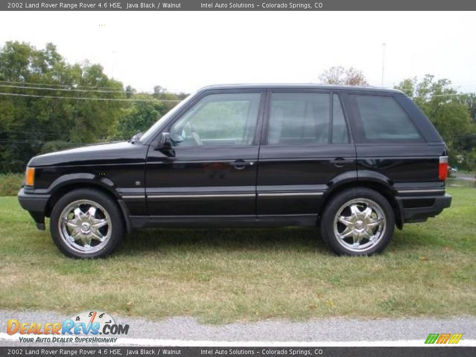 2002 land rover range rover 4 6 hse java black walnut photo 4. Black Bedroom Furniture Sets. Home Design Ideas