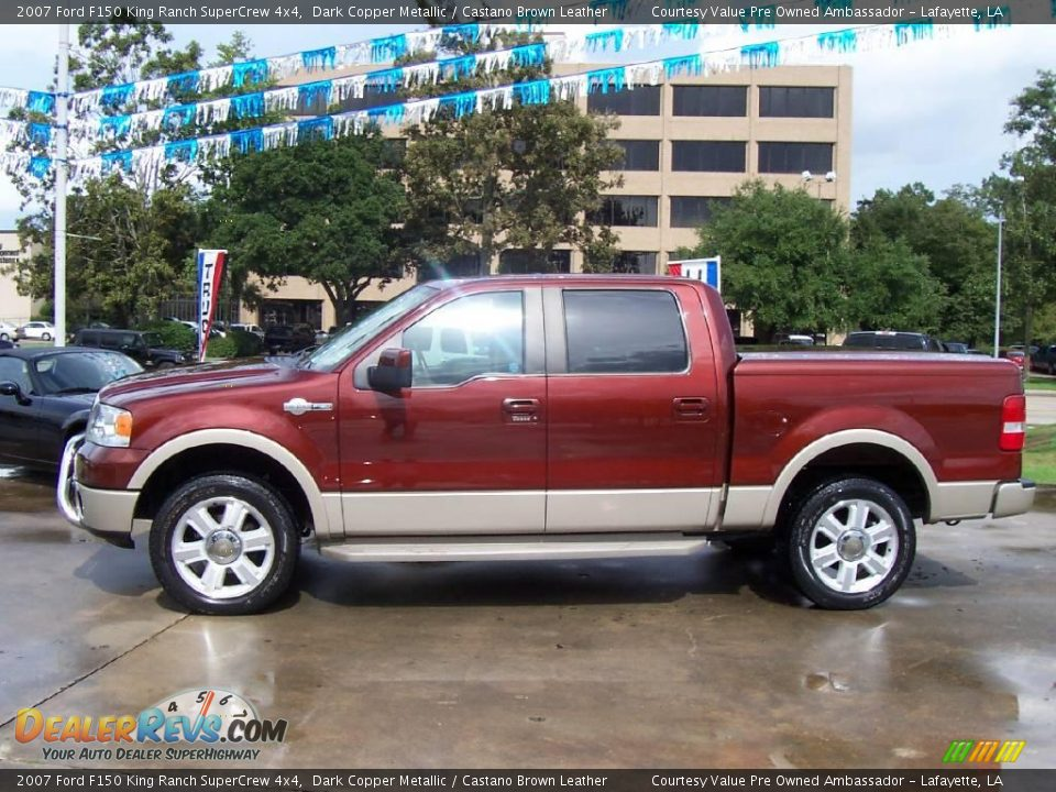 Used Car King >> 2007 Ford F150 King Ranch SuperCrew 4x4 Dark Copper ...