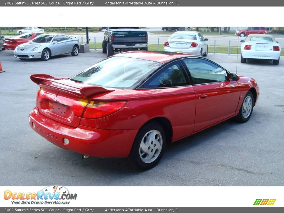 2002 saturn s series sc2 coupe bright red gray photo 5. Black Bedroom Furniture Sets. Home Design Ideas