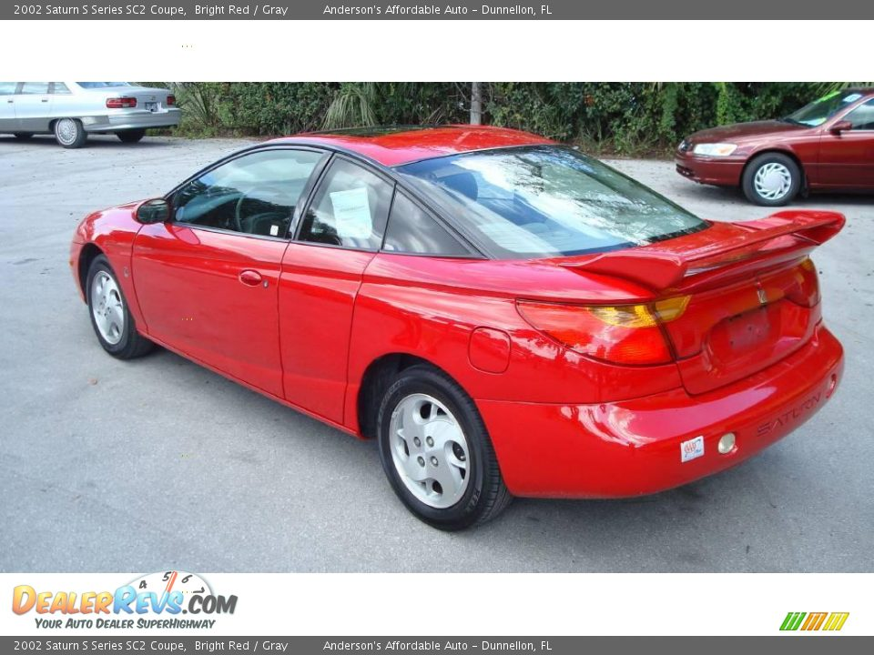 2002 saturn s series sc2 coupe bright red gray photo 7. Black Bedroom Furniture Sets. Home Design Ideas