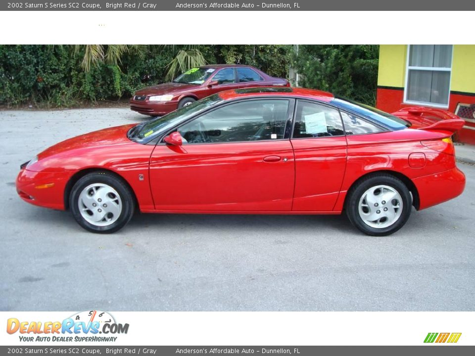 2002 saturn s series sc2 coupe bright red gray photo 8. Black Bedroom Furniture Sets. Home Design Ideas