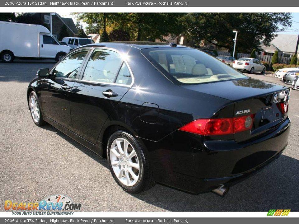 2006 Acura Tsx Sedan Nighthawk Black Pearl Parchment