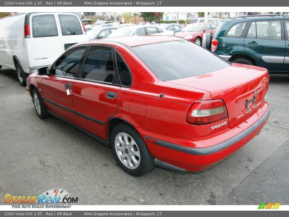 2000 Volvo S40 1 9t Red Off Black Photo 7 Dealerrevs Com