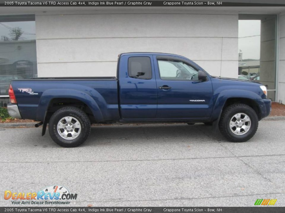 2005 toyota tacoma v6 trd access cab 4x4 indigo ink blue. Black Bedroom Furniture Sets. Home Design Ideas