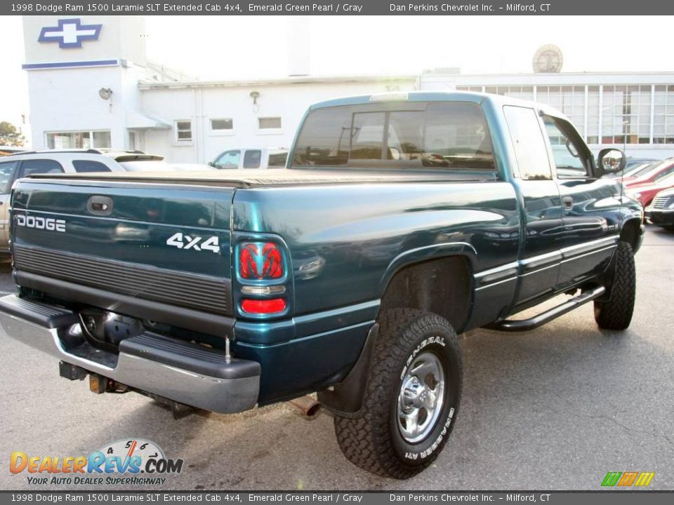 1998 dodge ram 1500 laramie slt extended cab 4x4 emerald green pearl gray photo 5. Black Bedroom Furniture Sets. Home Design Ideas